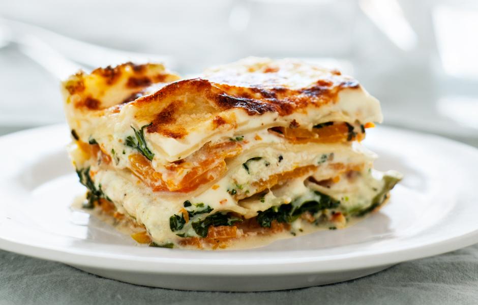 Squash and Broccoli Rabe Lasagna | RoofTop Recipes