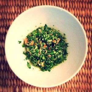 grain-free tabbouleh